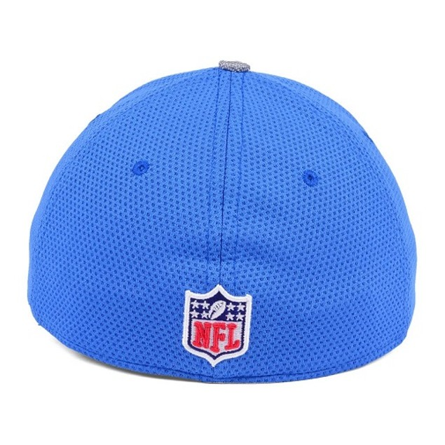 Detroit Lions NFL New Era 39Thirty Sideline Stretch Fitted Hat