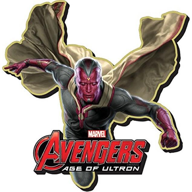 "Vision Chunky Magnet 4"" x 3"" Avengers Ultron Marvel Comics Funky Gift"