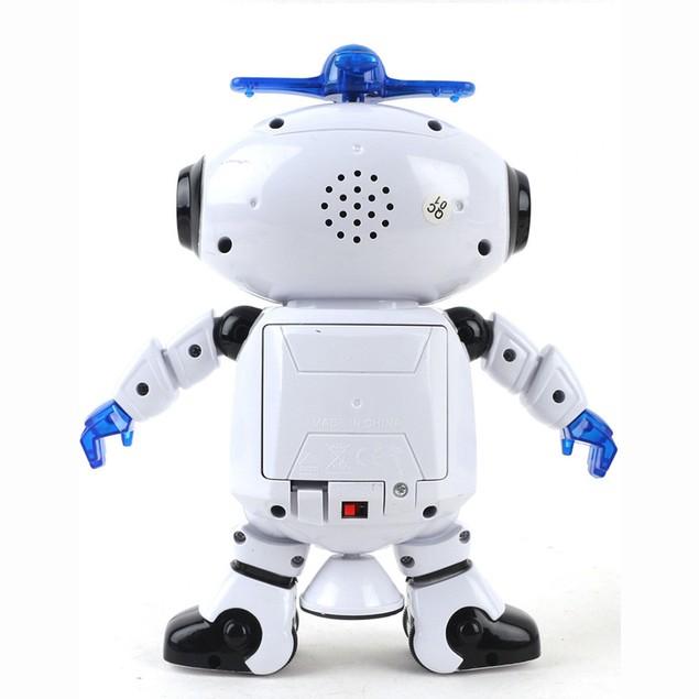 Electronic Walk Dance Smart Space Robot Astronaut Kids Music Light Toys