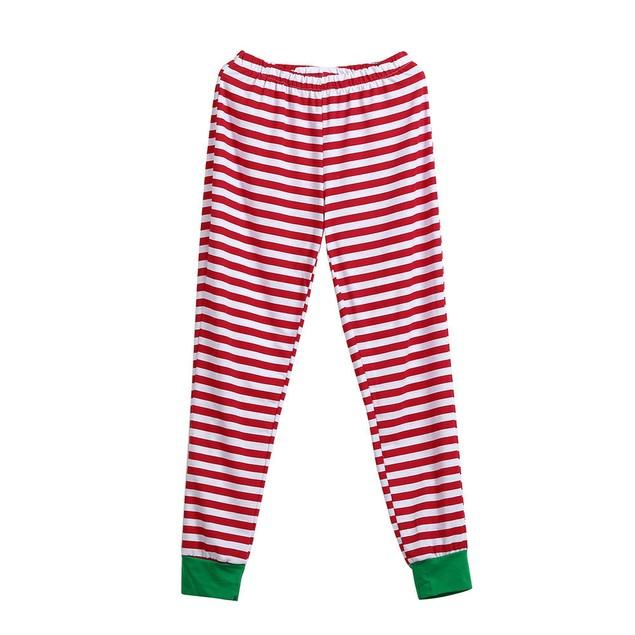 Christmas Women Mother Pajamas Sleepwear Nightwear Two-pieces Outfits