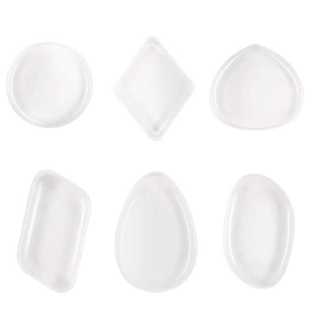 Foundation Powder Clear Silicone Makeup Sponge