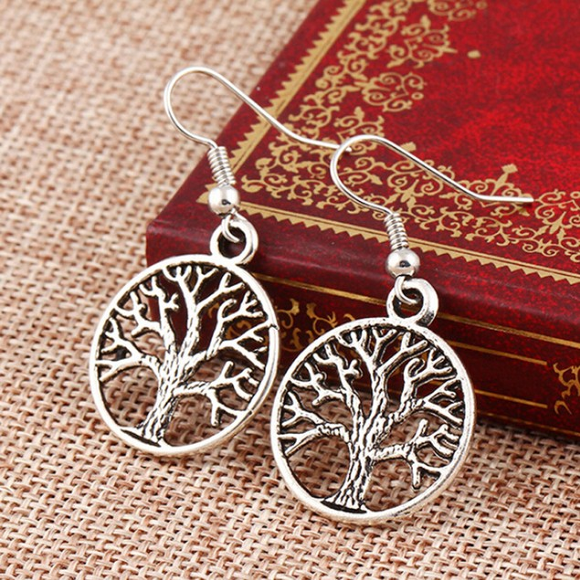 Tree Hollow Dangle Earnings