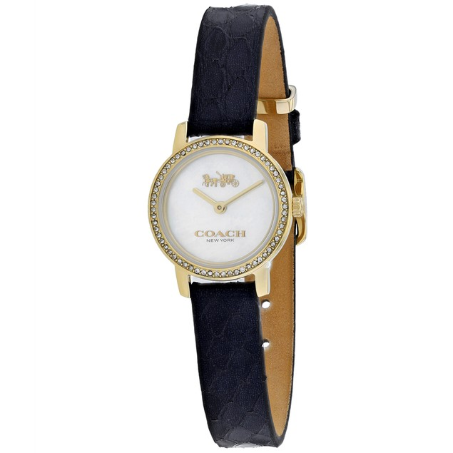 Coach Women's Mother of Pearl Dial Watch - 14503364