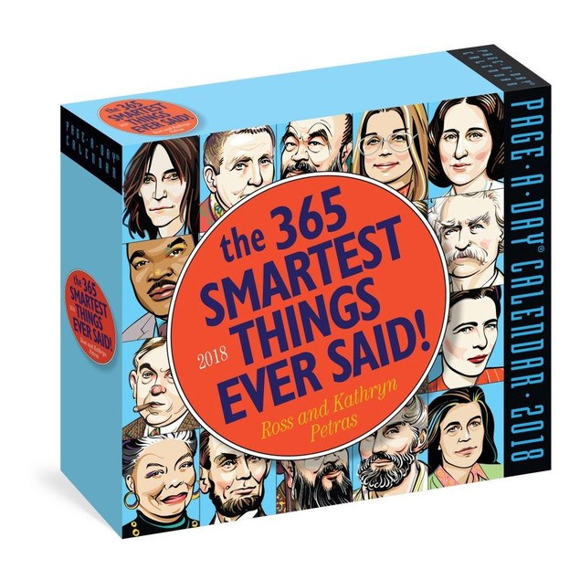 365 Smartest Things Ever Said Desk Calendar, More Inspiration by Calendars