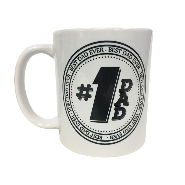 Number 1 Dad 11 oz Coffee Mug