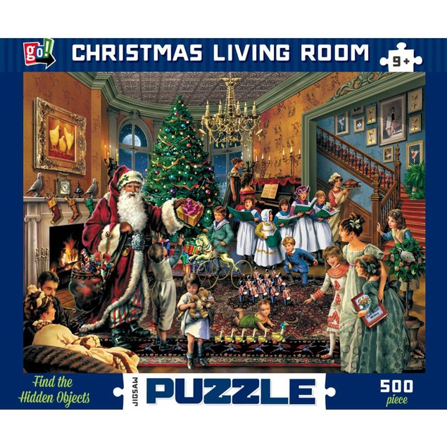 Christmas Living Room 500 Piece Puzzle, Prestige Vision Co., Ltd. by Go! Ga