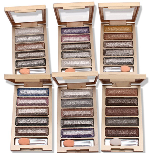 5 Colors Nude Makeup Smoky Eye Shadow Palette