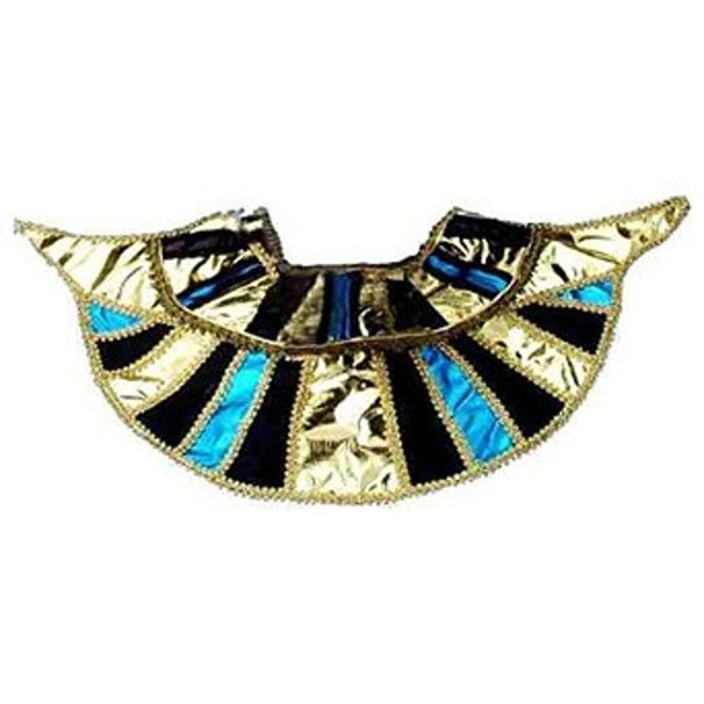Egyptian Collar Cleopatra Queen Costume Egypt Neck Shoulder Womens Costume