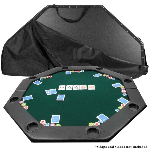 Tabletop Octagon Padded Poker Table - 51 x 51""