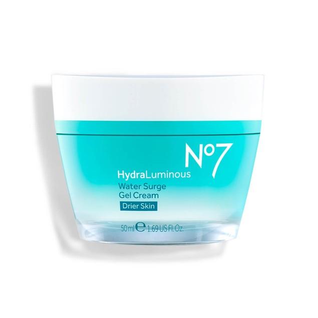 No7 Hydraluminous Water Surge Lightweight Gel Cream Formula, 1.69 Ounce