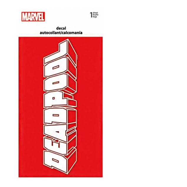 "Deadpool Decal 4"" x 8"" Marvel Comics Wade Wilson X-Men Mutants Dead Pool"