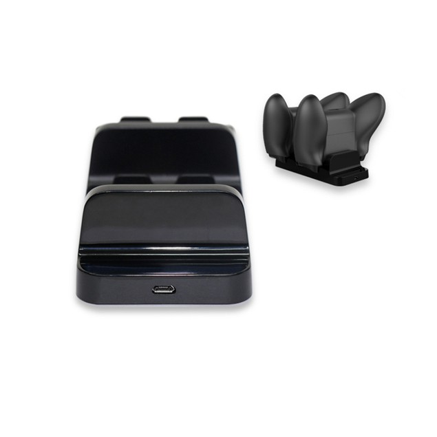 For Xbox One Controller Double Charging Cradle with 2x Rechargea