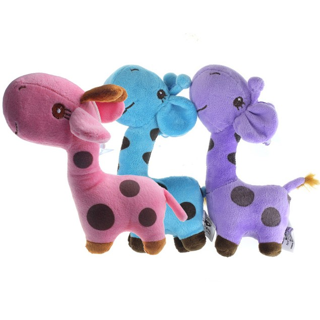Giraffe Dear Soft Plush Toy Animal Dolls