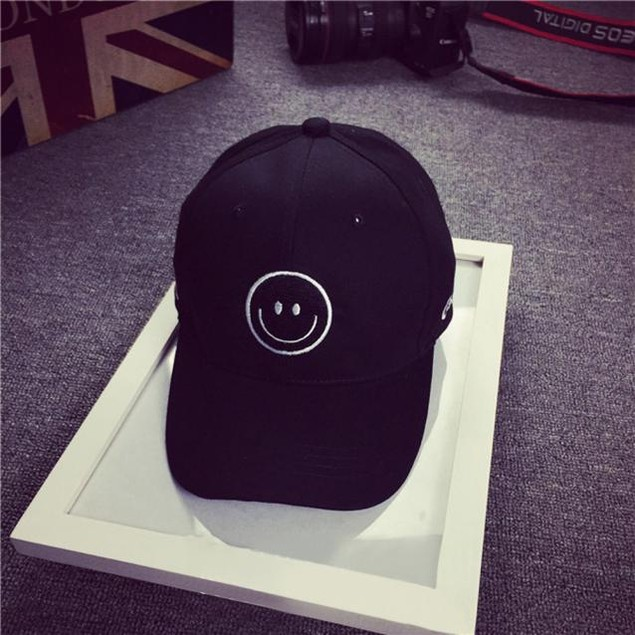 Embroidery Cotton Baseball Cap Snapback Hip Hop Flat Hat