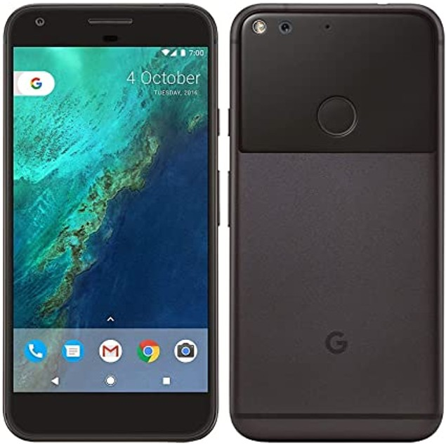 Google Pixel 1st Gen 32GB Quite Black Unlocked Bundle