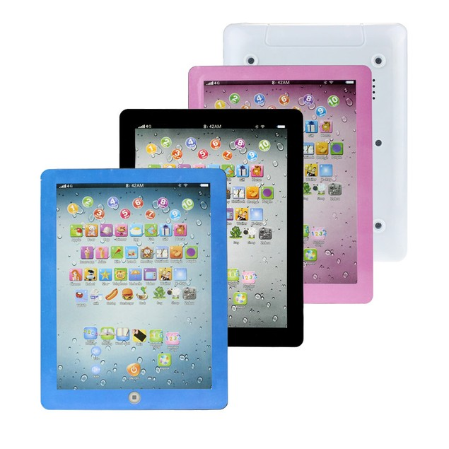 Child Touch Type Computer Tablet English Learning Study Machine Toy