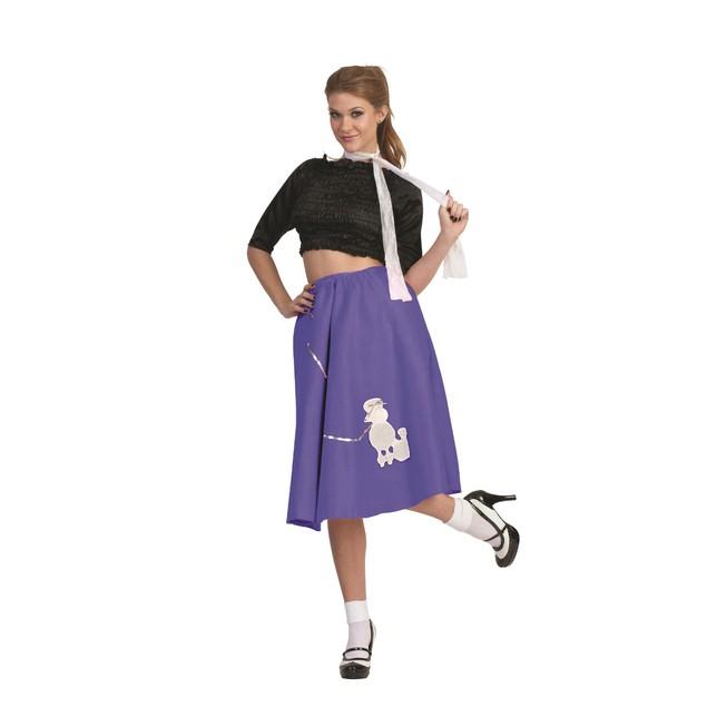Purple Poodle Skirt