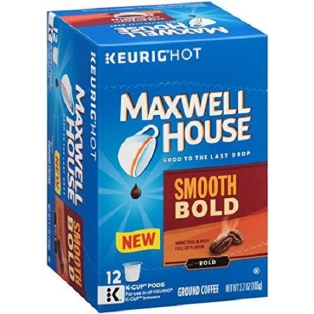 Maxwell House Smooth Bold Blend Coffee K Cup