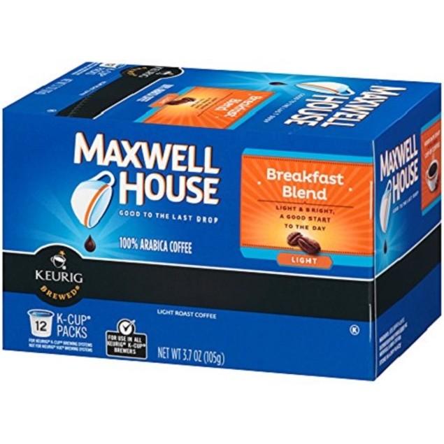 Maxwell House Breakfast Blend Coffee K Cup