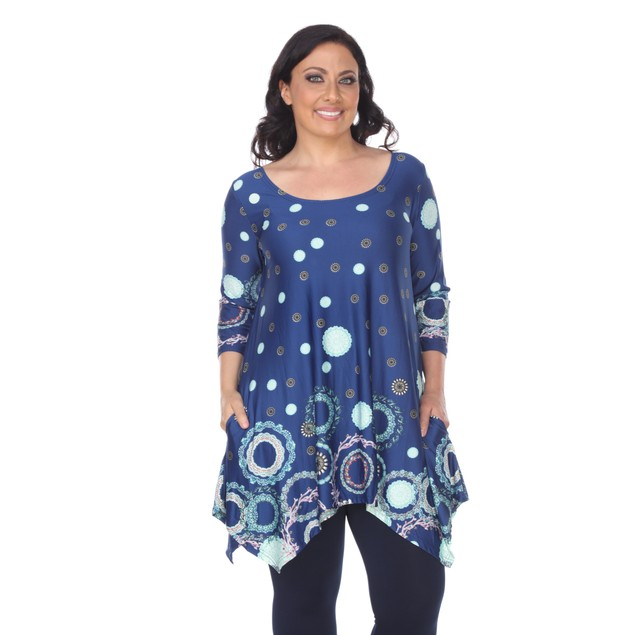 Erie Tunic Top - 7 Colors - Extended Sizes