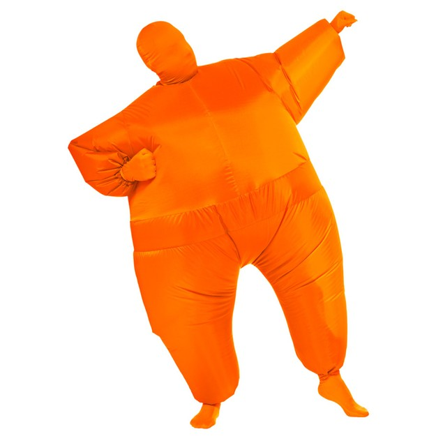 Orange Infl8s Fat Suit