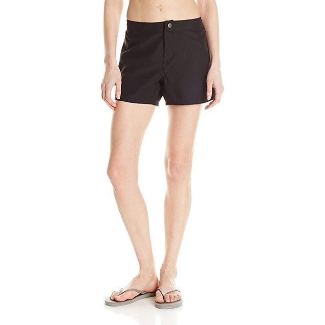 Speedo Women's Aquatic Board Short (13 Inch Outseam), Black, Medium