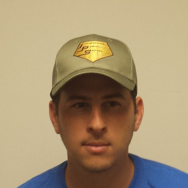 Doug Heffernan Gray International Parcel Service Baseball Cap