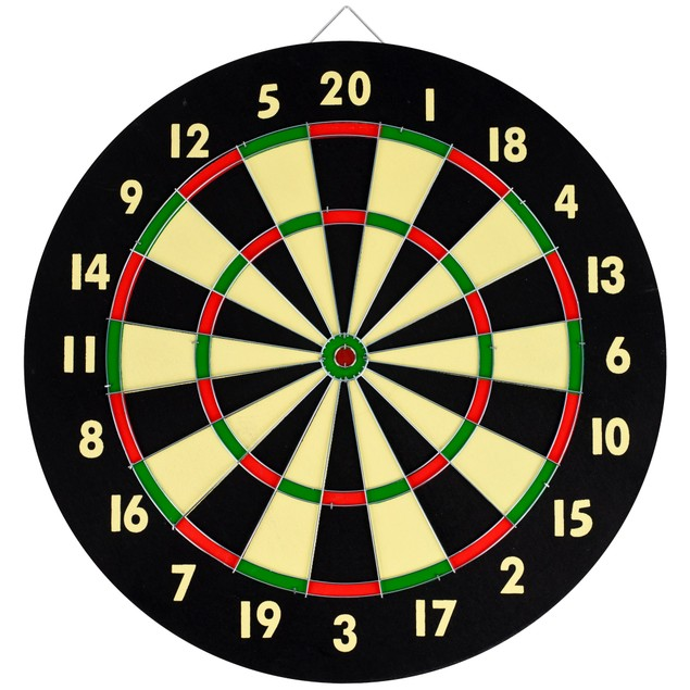 Dart Game Set with 6 Darts & Board