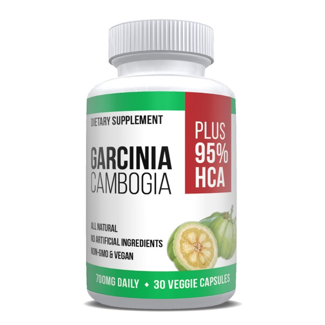 Pure Garcinia Extract Max Strength 95% HCA Weight Loss Fat Blocker 30 Caps