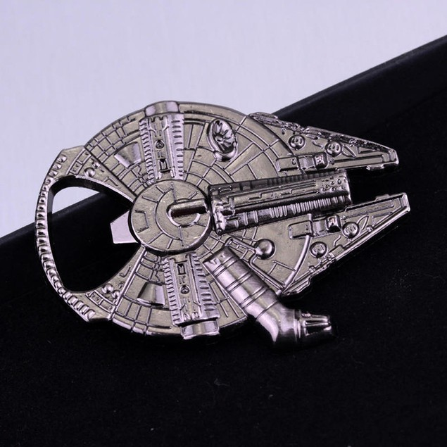 Star Wars Millenium Falcon Metal Bottle Opener