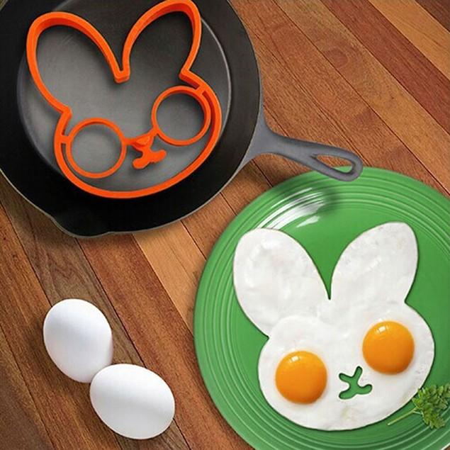 Egg and Pancake Bunny Mold