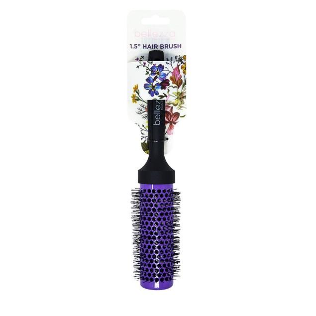 Bellezza Premium Quality Ceramic Round Purple Brushes