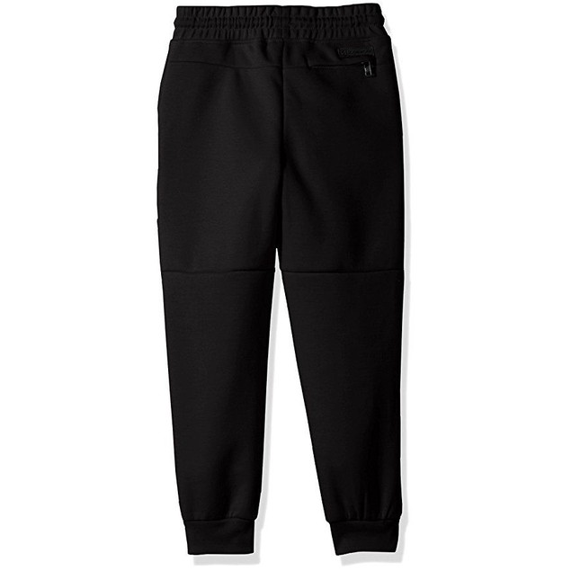 Southpole Little Boys' Kids Tech Fleece Jogger Pants, Black, Medium