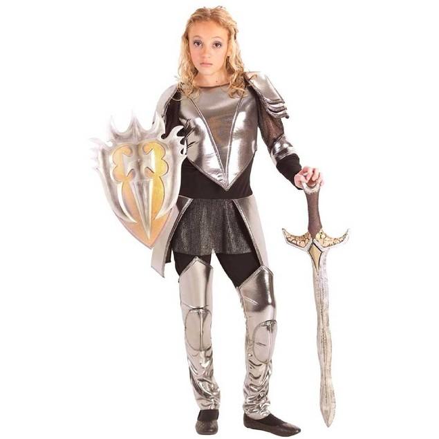Warrior Snow Tween Costume