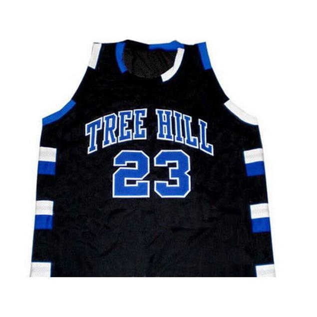 Nathan Scott #23 Black Basketball Jersey