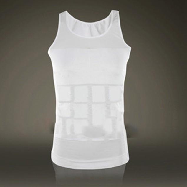 Men's Shapewear Tummy Tuck Vest Waist Body