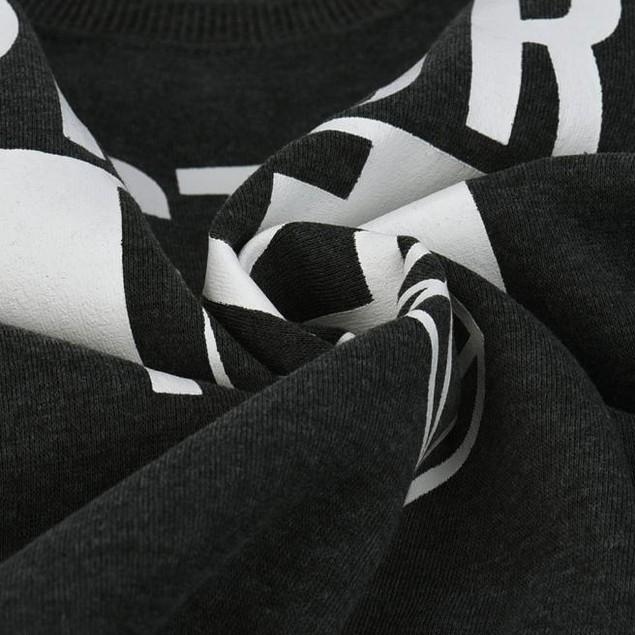Women Diamond Letter Print Casual Sweatshirt Coat Outerwear Tops