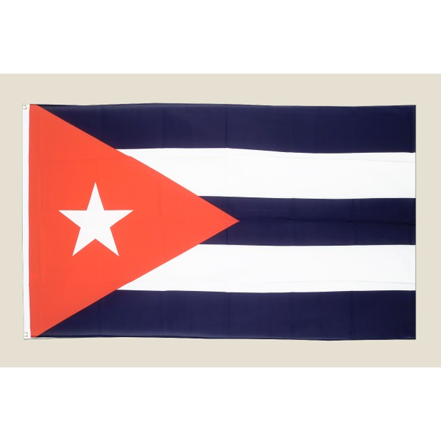 Cuba 3x5 Flag Red White Blue Polyester 2 Brass Grommets Cuban Country