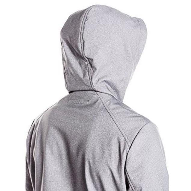 Kenneth Cole New York Men's Hooded Softshell Jacket, Grey, SZ: X-Large