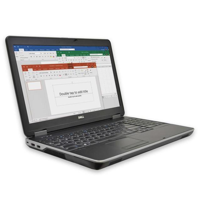 """Dell E6540  Computer Intel i5 4GB 500GB HDD Windows 10 Home 15"""" Monitor"""