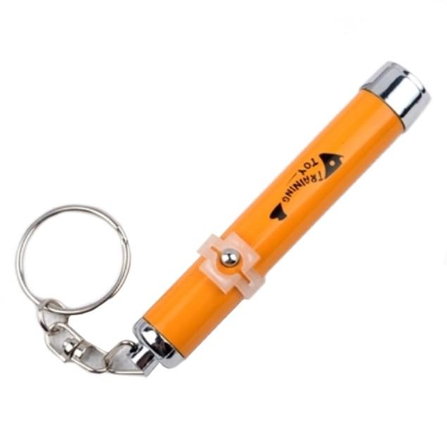 Cat Dog Training Toy LED Laser Tease Stick