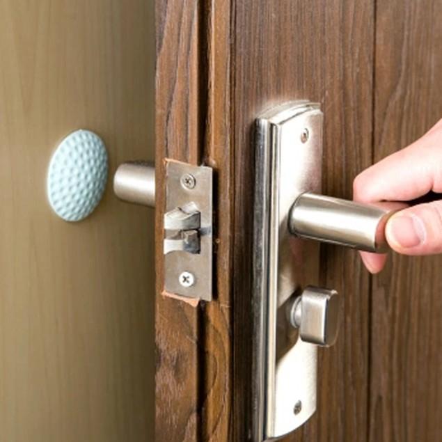 Door Doorknob Back Wall Protector Savor Shockproof Crash Pad