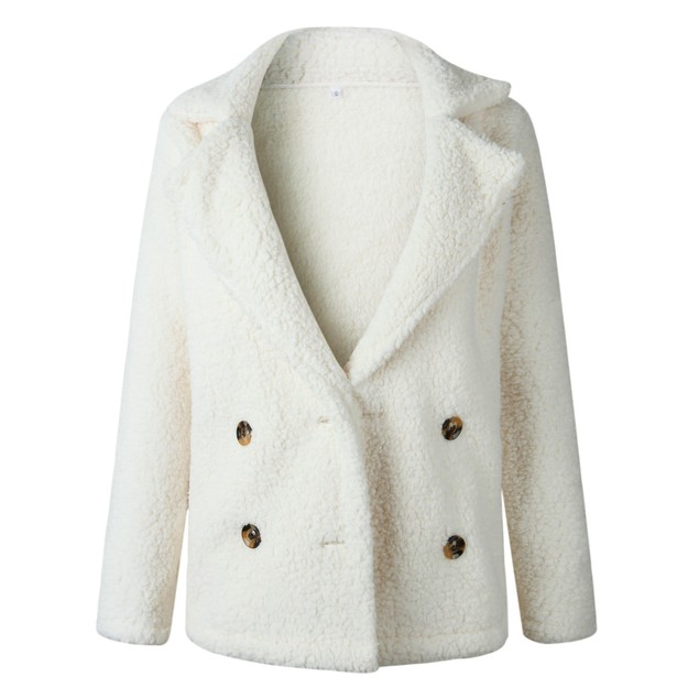 Plush Peacoat in Multiple Colors
