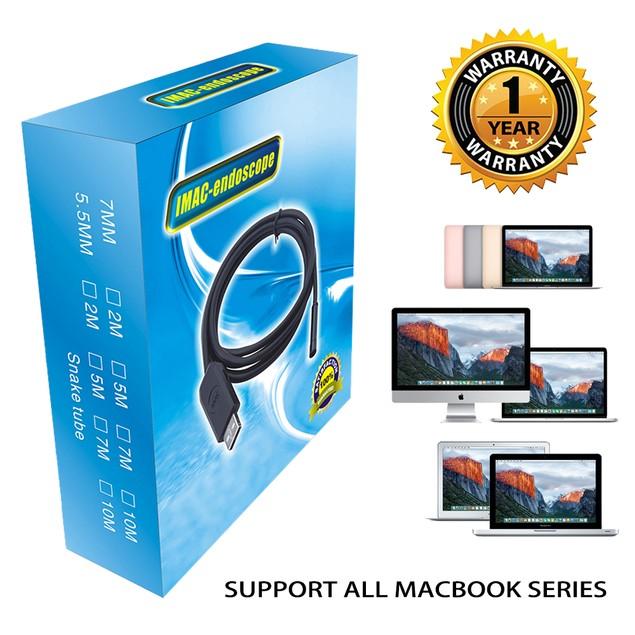 2M-HD 6 LEDs Waterproof USB 3.0 Endoscope Borescope