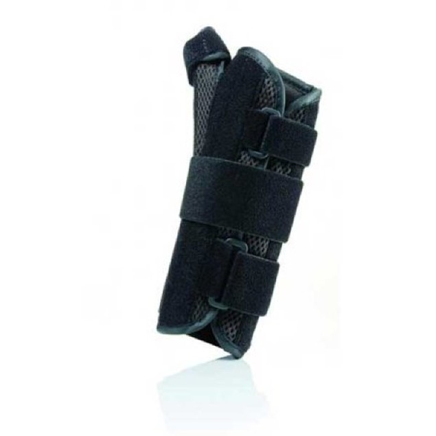 "Fla Prolite Airflow 8"" Left Wrist Splint w/ Abducted Thumb, Medium, Black"