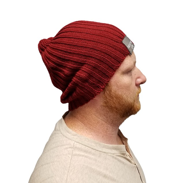 Seattle 138 Delsin Rowe Red Slouch Beanie Hat