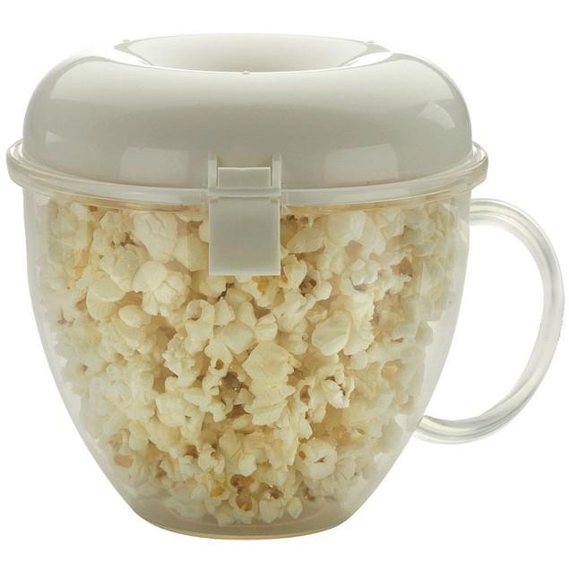 Popcorn Wave (Microwaveable, 4 Cups, No Oil or Butter, Dishwasher Safe)