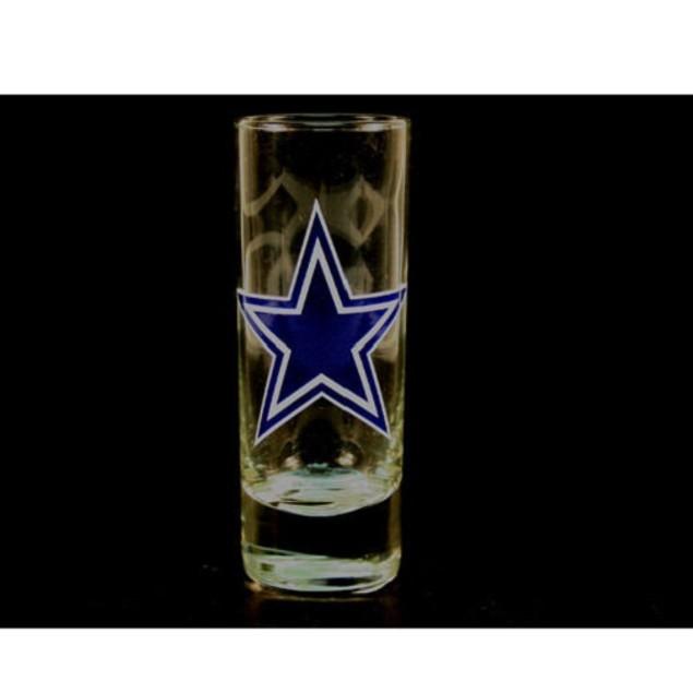 "Dallas Cowboys NFL ""Hype"" Tall Shot Glass"