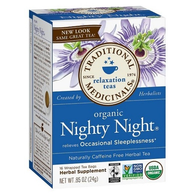 Traditional Medicinals Tea Organic Nighty Night