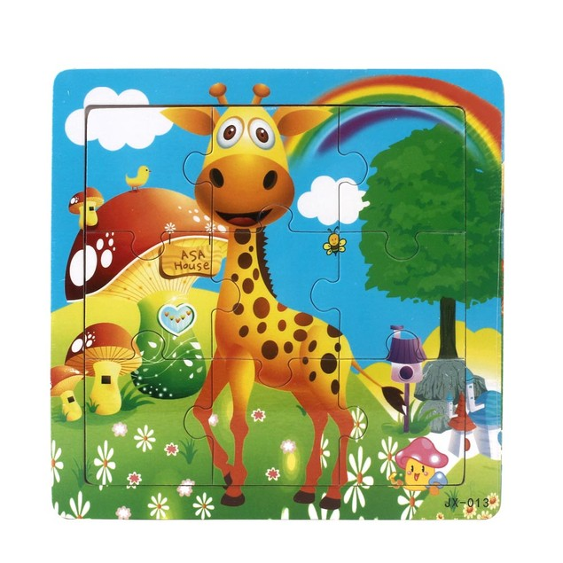 Wooden Kids Jigsaw Toys For Kids Education Puzzles Toys